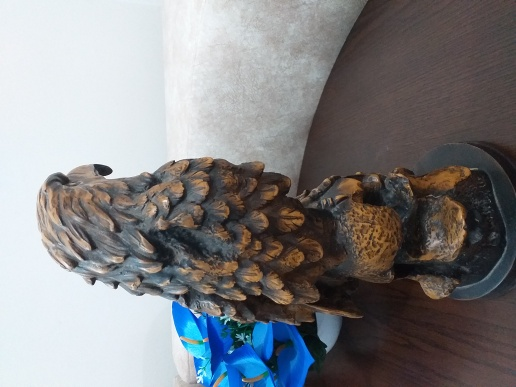 Large Wooden Eagle Antique Egyptian
