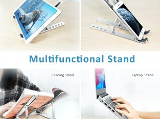 Portable Aluminum Folding Laptop Stand Notebook