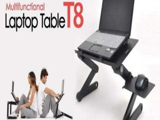 T8 multifunctional laptop table with cooling fan