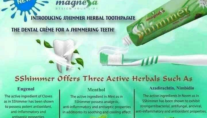 Magnessa Sshimmer Toothpaste