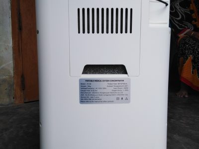 Easy care oxygen concentrator